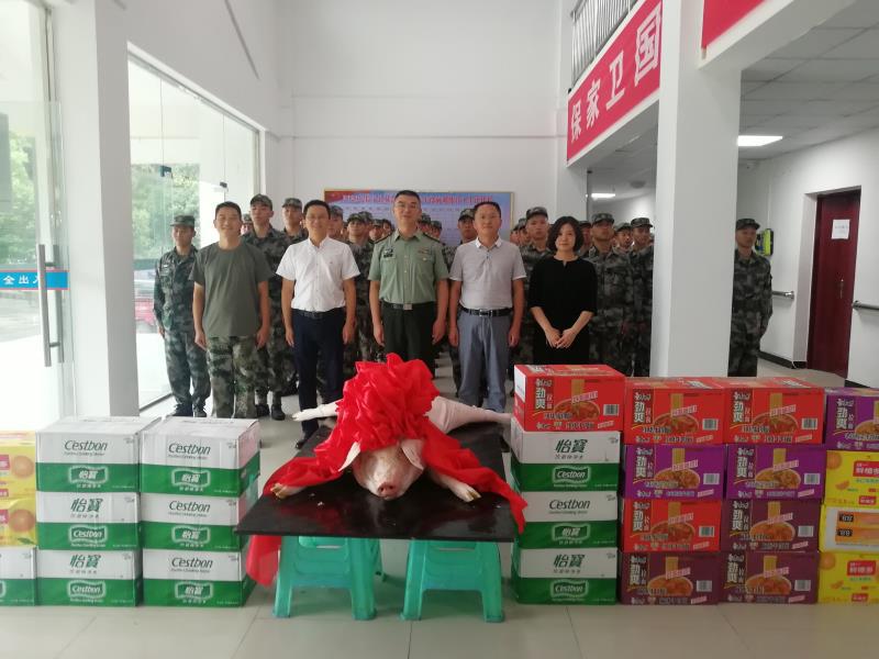 长宁县:积极开展拥军工作 军民鱼水情意浓