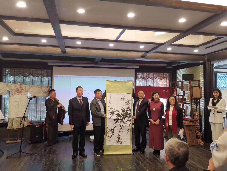 为新中国建国71周年 建党100周年献礼 《竹韵流千古  风节传万世》