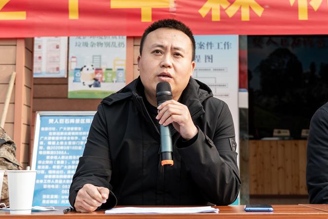 僰王山镇开展2021年森林防灭火演练