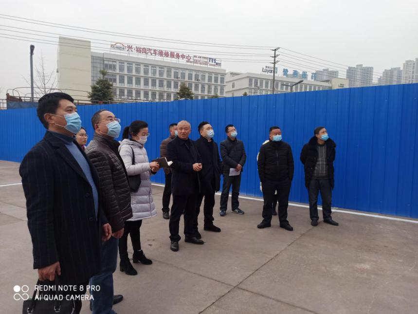 内江市市监局党组书记万伟一行到市中区调研冷链食品监管工作