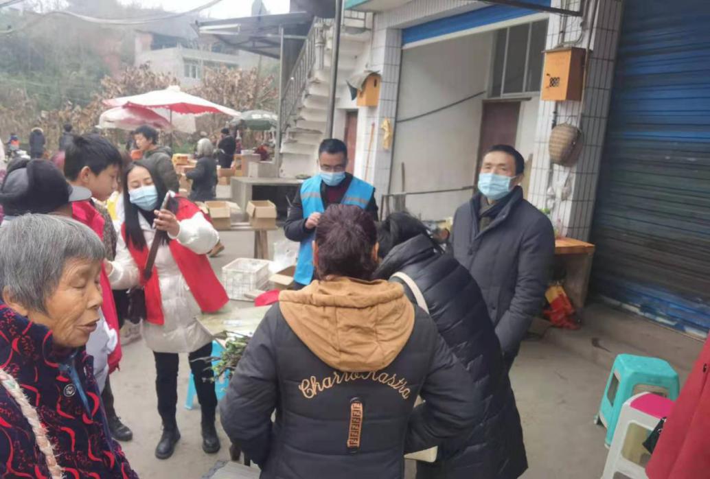 新江街道党工委织密疫情防控网