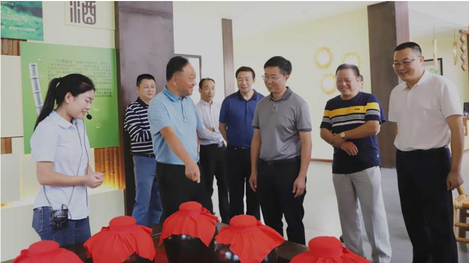 宜宾市政协副主席李康调研长宁县民营企业