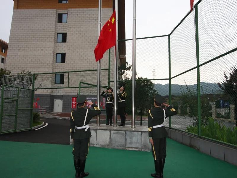 四川省达州市达川中学举行高2021级军训开营仪式