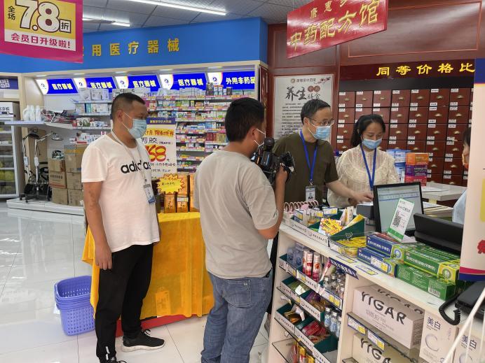 """内江市市场监管局高新区分局 """"三个加强""""护航国庆期间市场安全"""