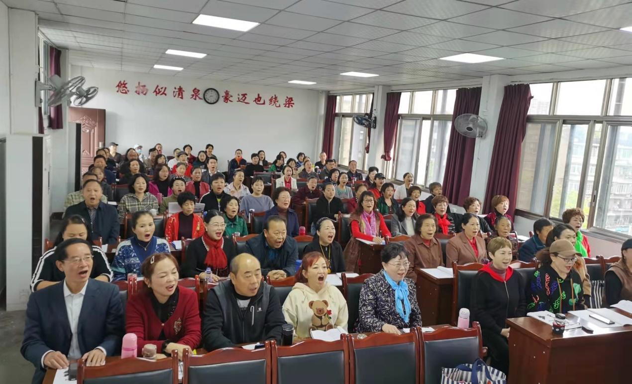 2021浪漫夕阳活动——内江市老年大学声乐提高二班庆祝重阳节活动